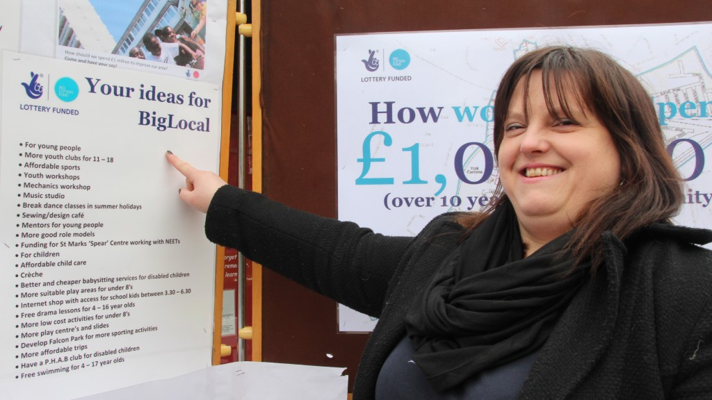Like Blanka, come to share your Ideas and find out more about Big Local SW11